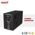 MUST pure sine wave 1000w power inverter dc 12v ac 220v for power system