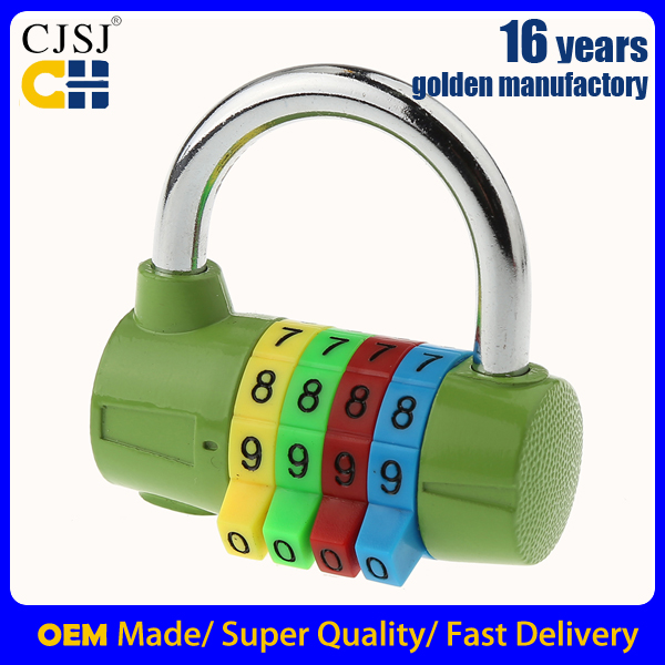 2017 Promotion gift 4 dial GYM combination padlock smart lock CH-206