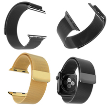 New arrival Luxury Stainless Steel Watch integrated Band link For Apple Watch 38mm/42mm