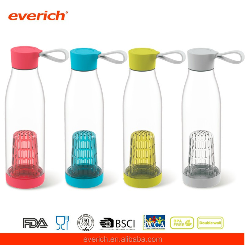 650ml fruit water bottle infuser with custom logo printing