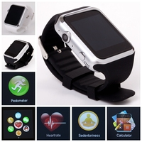 2015 Trade Assurance New Mobile watch sim card smart watch phone heart rate monitor smart watch with 1year warranty