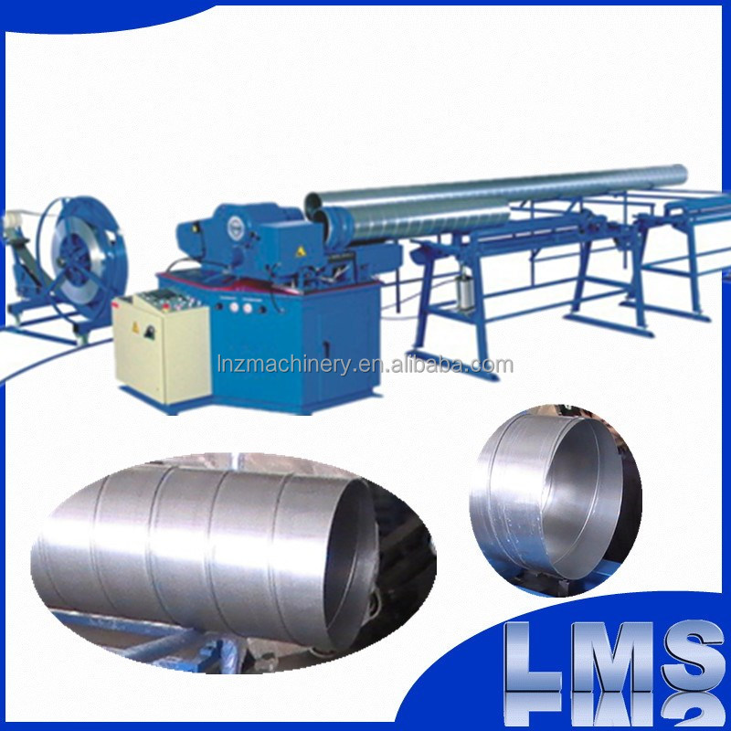 LMS full automatic hvac ventilation spiral duct forming machine price