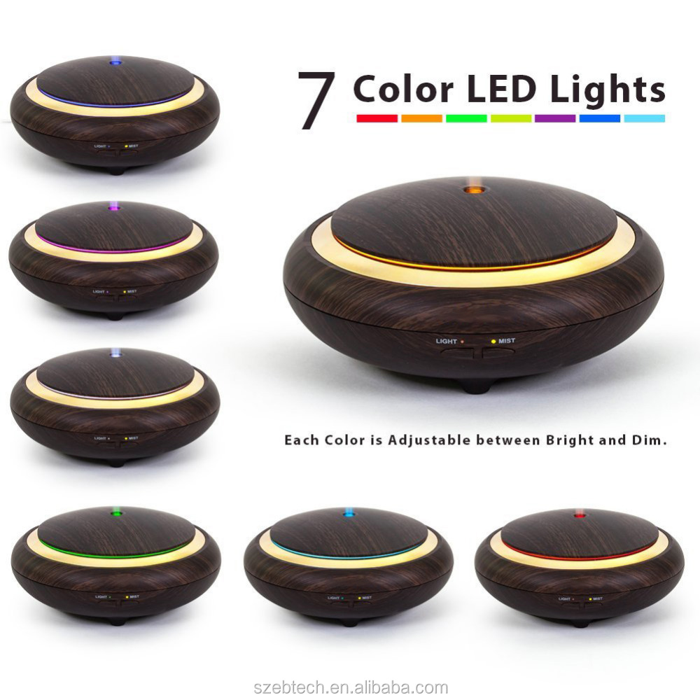 New products 2017 essential oil diffusers 150ml wood aroma diffuser ultrasonic humidifier