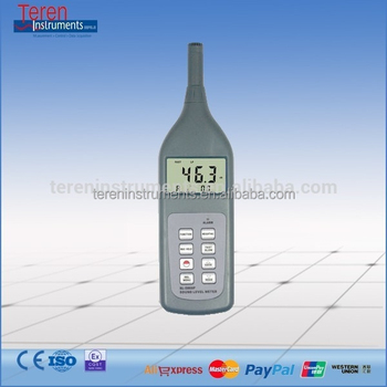SL-5868P Sound Level Meter 30 ~ 130 dB Decibel Detector RS 232 Noise Measuring Tester LCD