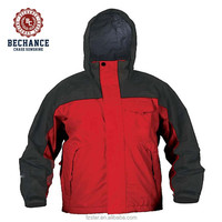 outdoor men's winter windproof hooded 3 in 1 jacket sport wear