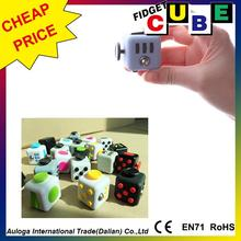 Cheapest in China stress release figet cube