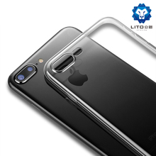 China supplier phone accessories transparent tpu mobile phone case for iphone 8