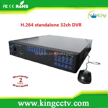H.264 32CH Standalone DVR 3G mobile & multi-language support PTZ Control(HK-S3132F)