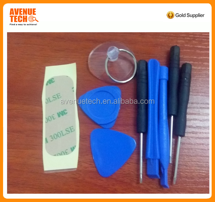 wholesale Factory price repair tools mobile phone 9 in 1 for iphone cheap and easy opening tools