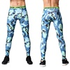 Sublimation mens compression tight pants quick dry