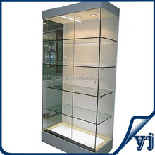 New Design Wooden Cosmetic Kiosk Stands/Wooden Wall Display Showcase/Perfume MDF Display