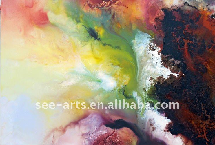 hand fabric painting designs art for sale SJA-0714