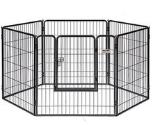 8 Panels heavy duty strong metal portable outdoor dog playpen kennels house for sale