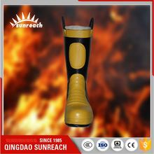Fire Resistant Fighting Military Safety Pipe Material Boots