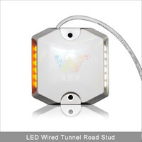 Road safety lights tunnel road LED wired plastic 3M reflective road stud