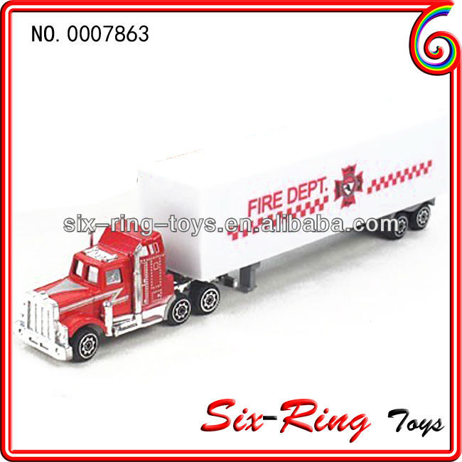 Newest metal and plastic mini truck model toys