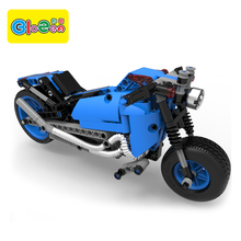 Hot sale china Eco-friendly plastic kid assemble toy motorcycle