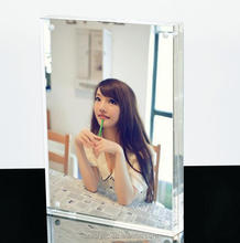 clear acrylic photo frame crystal table display funny frame