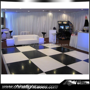 Durable acrylic dance floor events in stage decoration