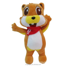 ICTI audited OEM/ODM factory custom plush stuffed squirrel toys for kids