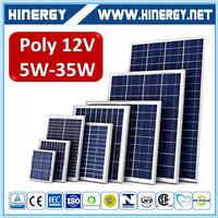 China Factory Offer Customized 20 watt solar panel 30 watt poly solar panel