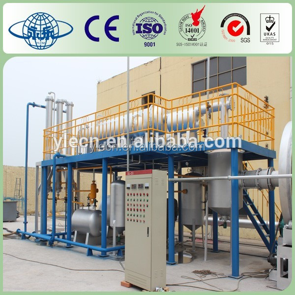 pyrolysis rubber recycling system