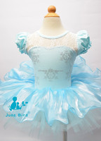 Frozen Elsa Princess Dress, Halloween,Christmas dance skirt, snowflakes dance skirt