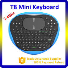 T8 Fly Air Keyboard Portable 2.4GHz Bluetooth Air Mouse For Android Tv Box