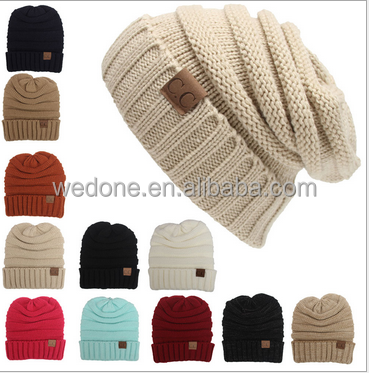 In Stock CC Beanie <strong>Hat</strong> Wholesale