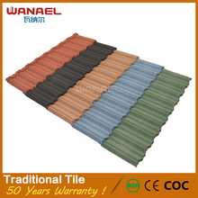 Wanael cheap price high quality compare roofing no fade slate tile