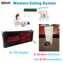 Top Popular Coffee Shop Service Restaurant Waiter Buzzer Table Call Button Guest Paging System