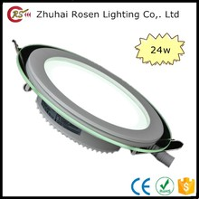 led livarno mounting brackets 24w round led glass panel light