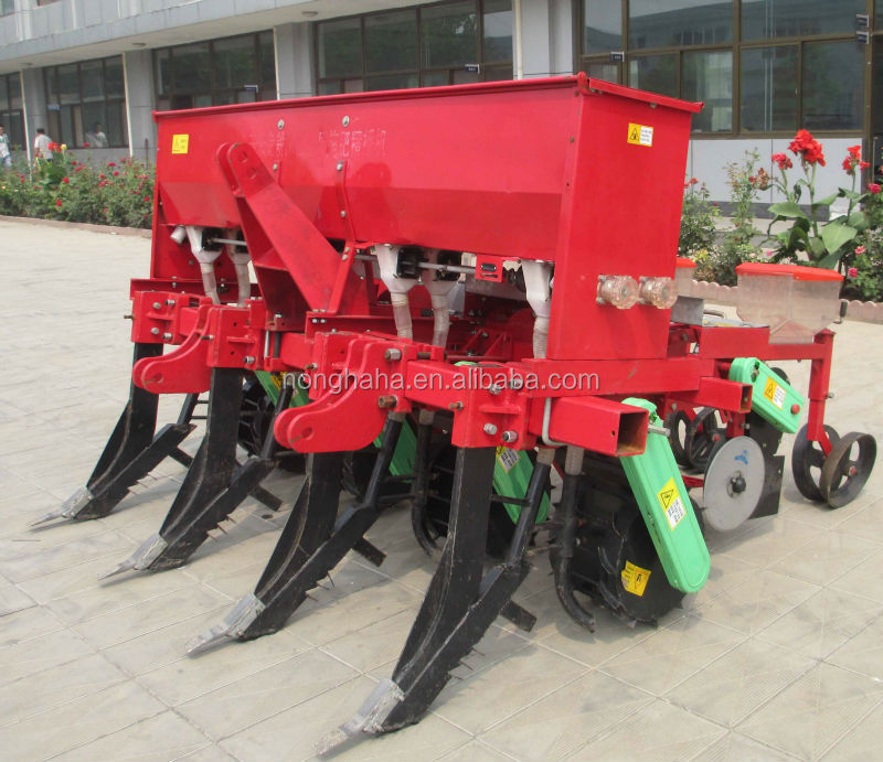 Agricultural machinery high working efficiency 2BMSQFY-4 no tillage deep fertilizer corn precise seeder