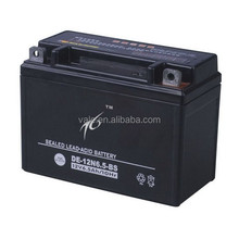 High quality 12N6.5-BS Dry Cell Motorcycle Battery 12V