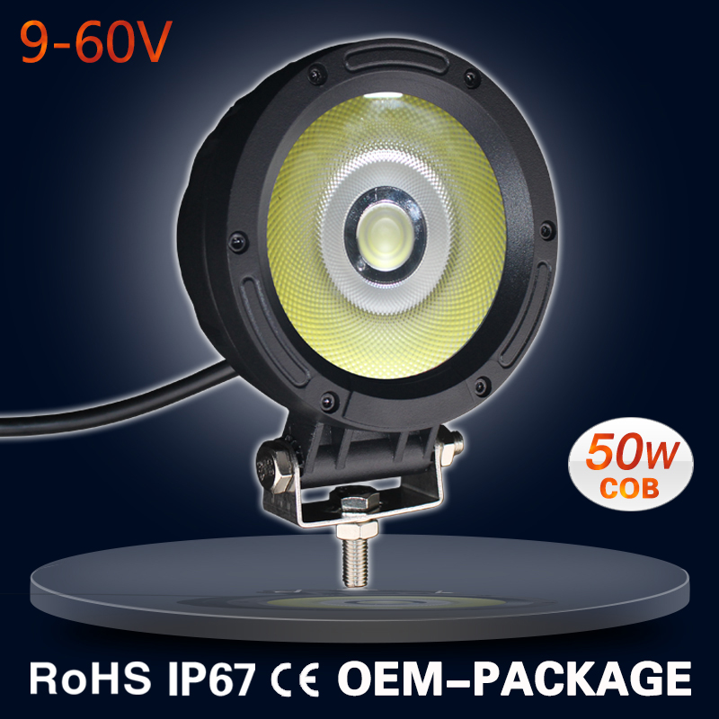 Wholesale 9-60V new COB bright led work light for trucks vehicles Off road 4wd 4x4