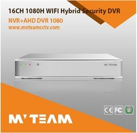 security systems ahd dvr 1080p 16ch 4 hdd h.264 cms free software p2p ahd dvr network video recorder
