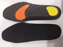 Anti-shock Wholesale Punched EVA Insole with Pad