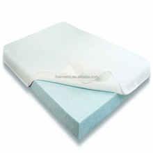 Massage memory foam mattress topper