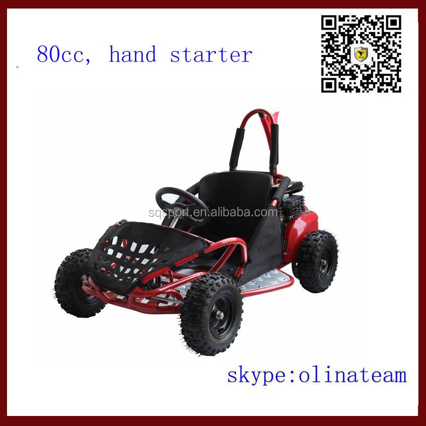 children cheap mini 80cc gas off road go kart