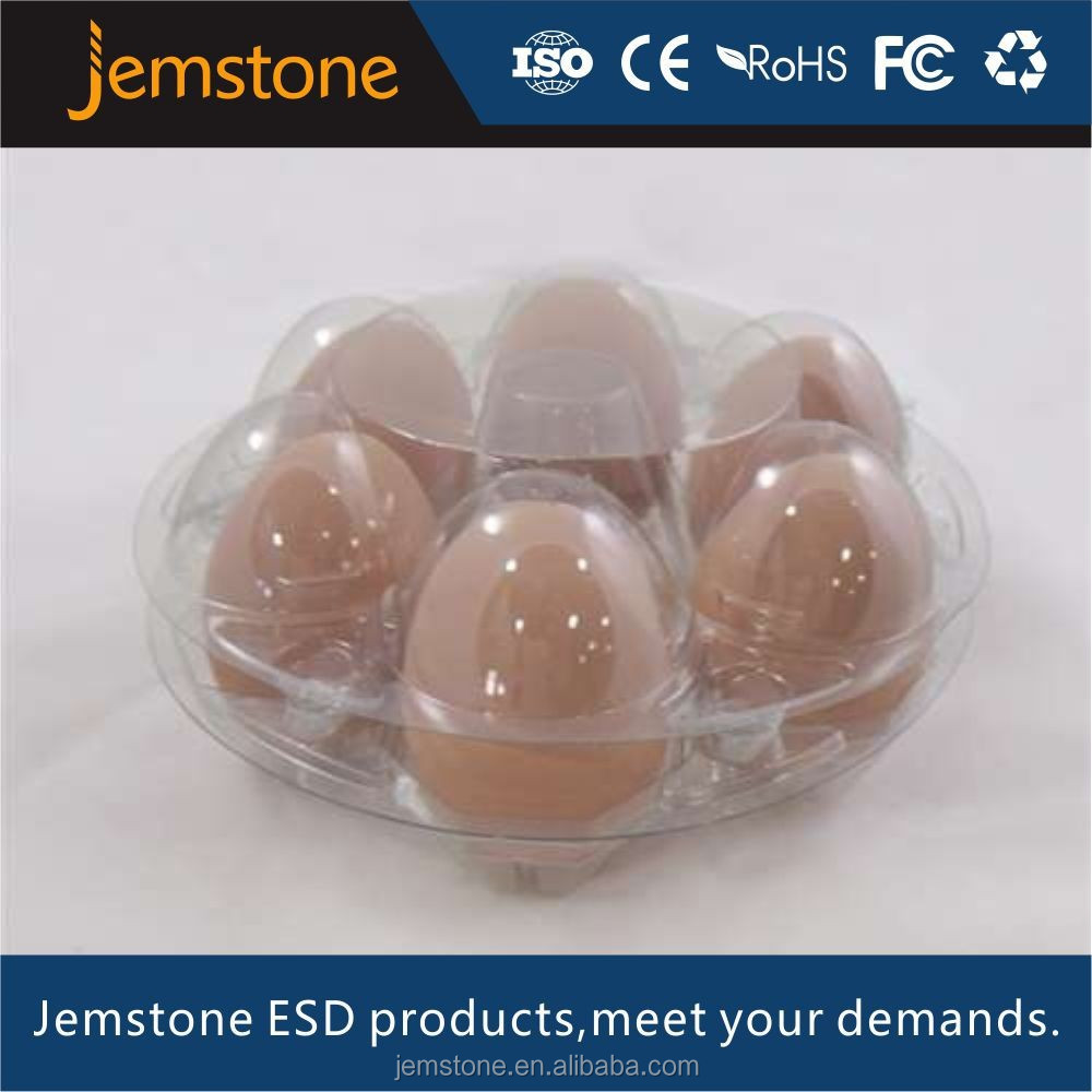 new design popular disposable plastic egg tray