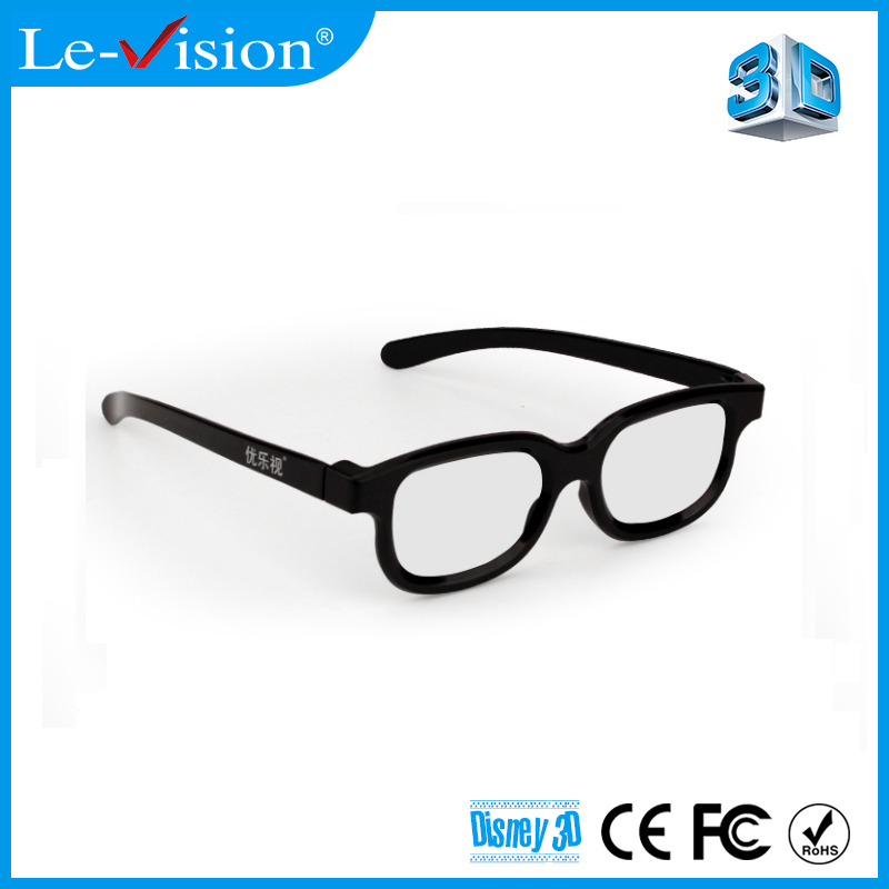 Light weight Passive Cinema System 3D Glasses Circular Passive DLP 3D Glasses for Optoma projector