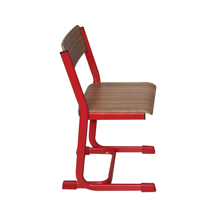 Plywood height customizable student furniture school training chair for sale