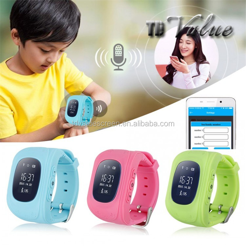 Factory Wholesale Q50 CDMA Mini Smart Kids GPS Tracker Mobile Watch Phone Price in Pakistan
