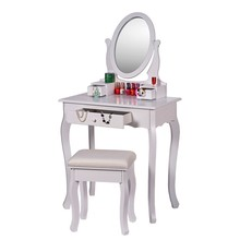 Modern design wooden dressing table with drawers