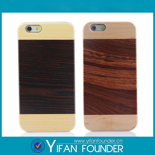 New arrival popular hot selling cellphone accessory for iphone 6s wooden smartphone case