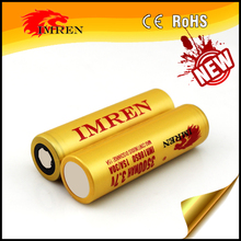 2017 HOT SELL New IMREN IMR 3500mAh 18650 battery 30a 3.7V 18650 Rechargeable Battery with wholesale price