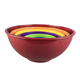 Unbreakable plastic melamine solid color large measuring cup bowls