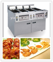 stainless steel chicken food processing machine multipurpose deep fryer