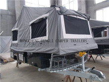 off road 4*4wd foward folding camper/camping/travel/tent trailer with independent suspension
