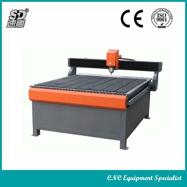 Hhigh speed ballscrew cnc router for wood metal stone-stone cnc router